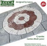 Plaza paving,garden landscape,large pavers