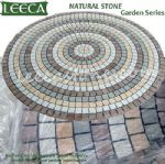 Circle paver kit,fan cobbles,mesh stone