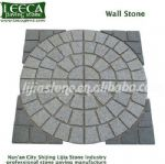 Circle square,mesh paver,garden patio stone