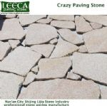 Garden decor granite gravel irregular stone