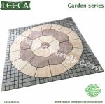 Sidewalk pattern paver garden paving stones